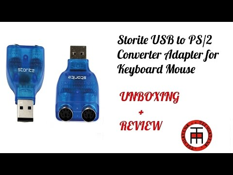 Storite USB to PS2 Converter Adapter for Keyboard Mouse