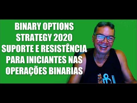 BINARY OPTIONS STRATEGY 2020 SUPORTE E RESISTENCIA PARA INICIANTES NAS OPERAÇÕES BINARIAS