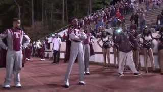 Towers High Drum Major  vs  Cedar Grove Drum Major   2014