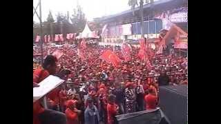 Kampanye Partai Aceh di Banda Aceh, Sabtu 5 April 2014