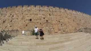 Hulda Gates, the gates of the Herodian Jewish Temple, the Old City of Jerusalem