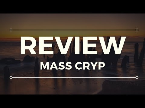 Mass Cryp Scam Review - WARNING! SEE THIS FIRST!