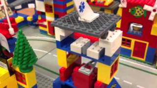 A Tour Of First Grade City Built With Legos