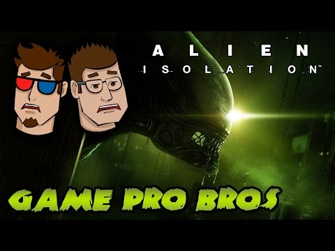 Alien Isolation (video game) Gameplay | GAME OVER MAN! - Game Pro Boos |