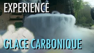 Expérience - Le Dry Ice ou Glace Carbonique