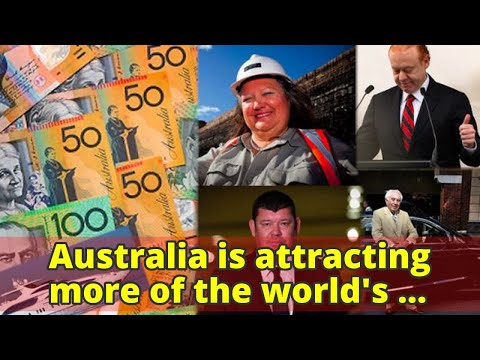 Australia is attracting more of the world's wealthy migrants than any other country
