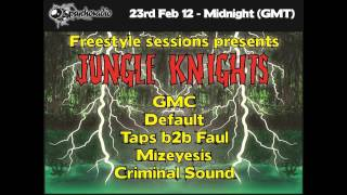 Jungle Knights v.07 - DJ GMC (23rd Feb 2013) [Raggajungle DnB]