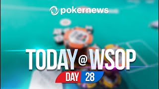 WSOP 2021   CAN HE SHIP SHOOTOUT FOR CHARITY?   Update Day 28