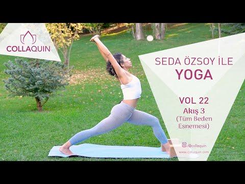 Seda Özsoy ile Yoga | Vol 22 | Akış 3 (Tüm Beden Esnemesi)