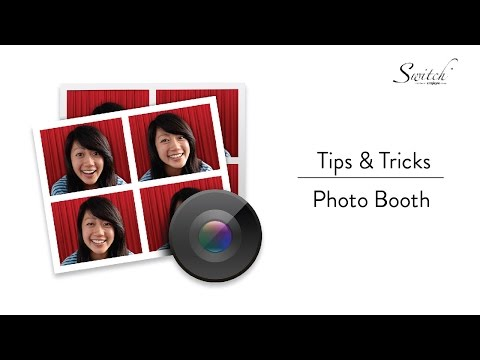 Tips & Tricks: Photobooth for Mac