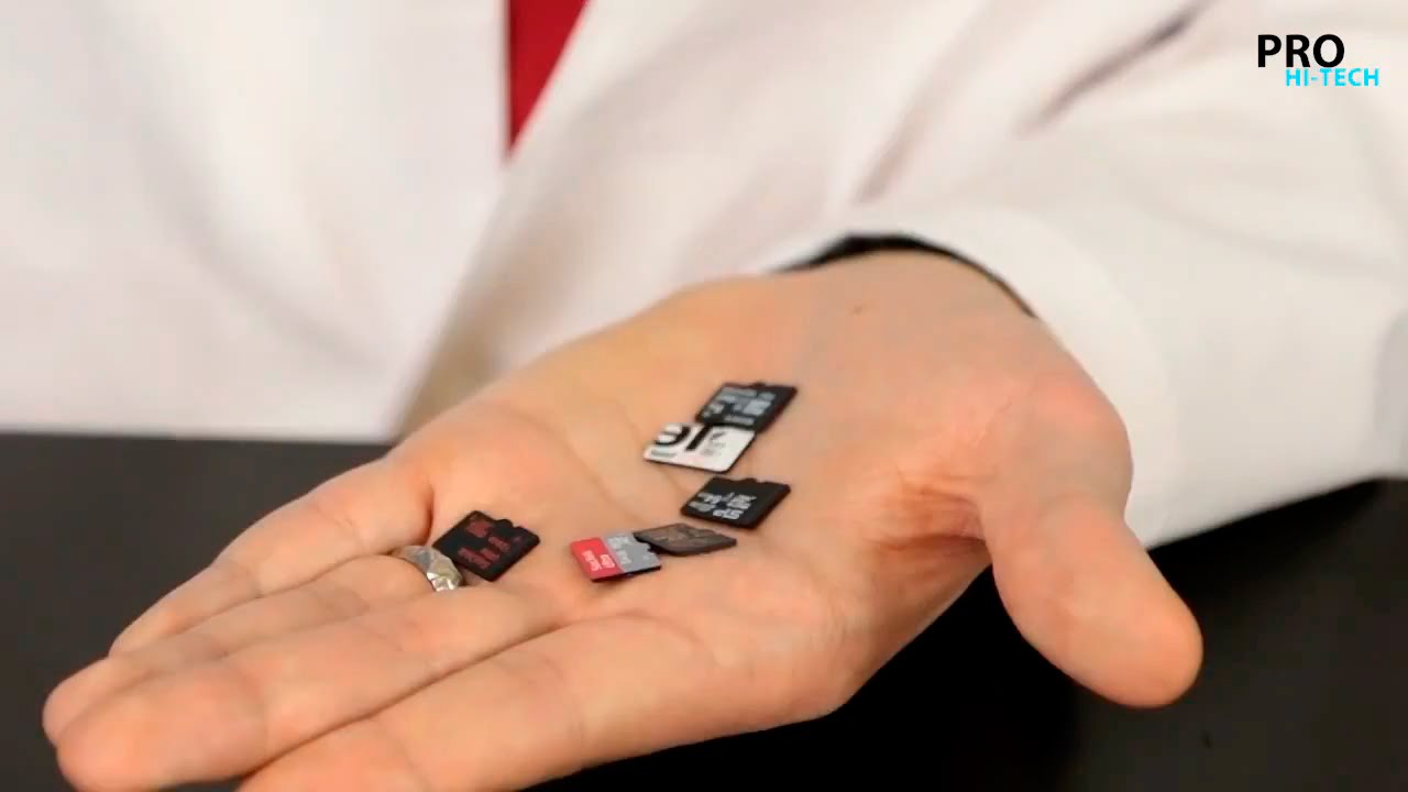 Тест: Какая карта памяти MicroSD лучше? Pro Hi-Tech