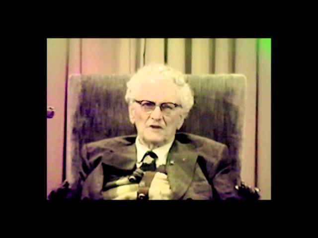 Manly P. Hall: RARE LECTURE VIDEO: Is There a Guardian Angel?