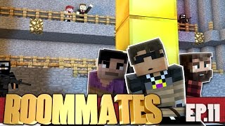 """SkyDoesMinecraft ROOMMATES! """"SEEING RED"""" S3 #11 (Minecraft Roleplay Show)"""