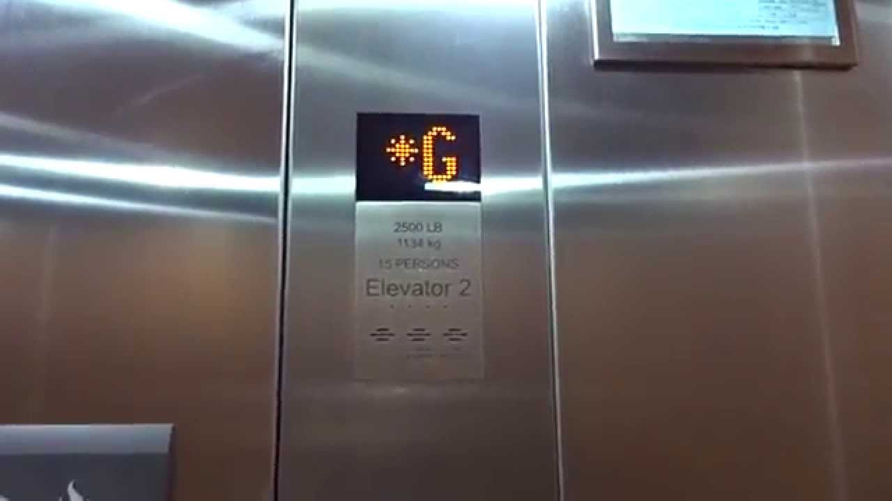 Kone Ecodisc Mrl Traction Elevators Hilton Garden Inn Wallingford Ct Youtube