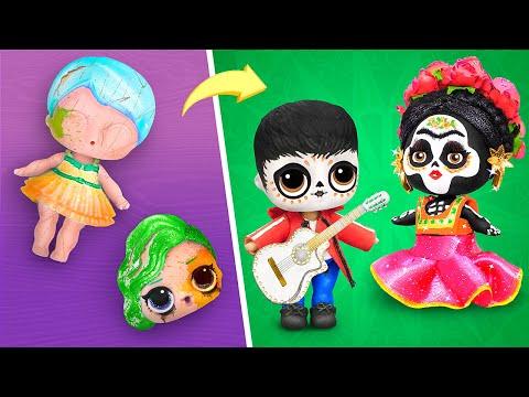8 идей для старых кукол ЛОЛ Сюрприз / Тайна Коко