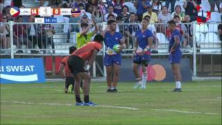 Highlights: Philippines are the Champions of the 2019 SEA Games Men's Rugby 7s