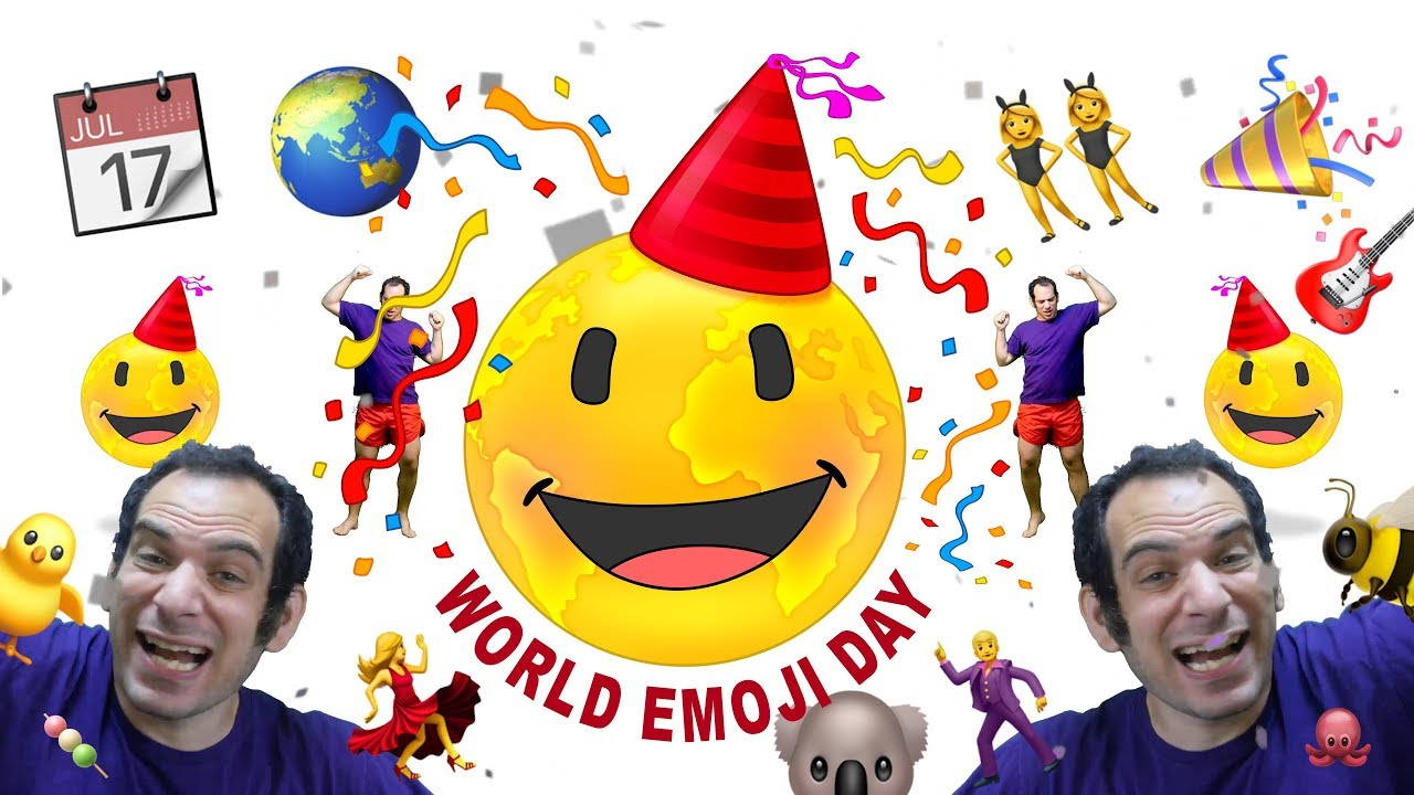 Celebrate World Emoji Day