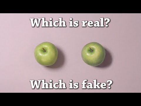 Fun Test: Which is Real? Green Apple Drawing Challenge!