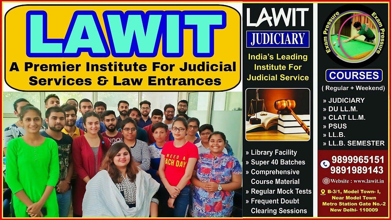 LAWIT | Prominent Judiciary Coaching In Delhi | All Details | Aasim Yezdani  | Exam Pressure