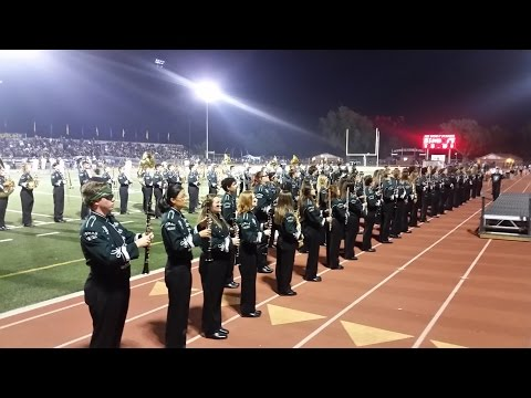 PHS Marching Pride & Color Guard Highlights - Harvest Bowl 2016