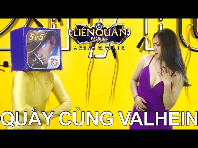 Cảm xúc của Moba Việt khi xem Đấng VALHEIN quẩy cùng em áo tím Arena of Valor