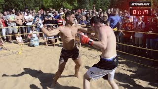 GOLDEN BOY vs MMA FIGHTER !!! Crazy Fight !!!