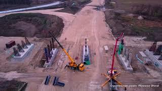 Строительство дороги  Яблочное SKoval