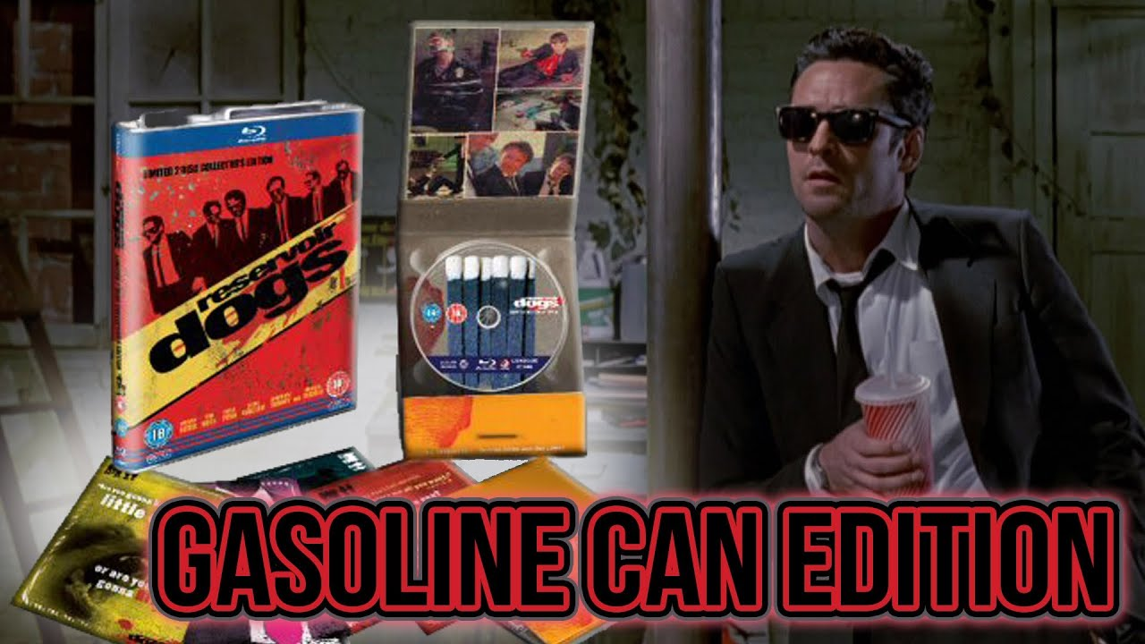 Image result for Reservoir Dogs 15th Anniversary Gas Can