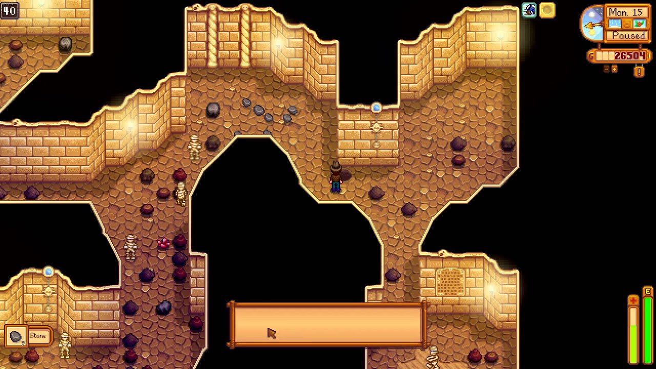 stardew valley how to travel in skull cavern