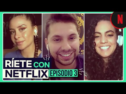 Fabrizio Copano, Pamela Ospina y Cami se unen para hacerte reír | Ríete con Netflix ep. 3