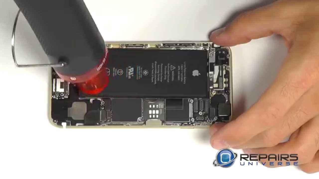 IPhone 6 Take Apart Repair Guide   RepairsUniverse   YouTube
