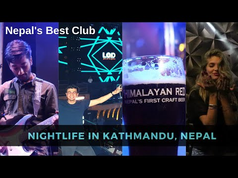 Nepal's BEST Club | CRAZY NIGHTLIFE of Kathmandu, Nepal