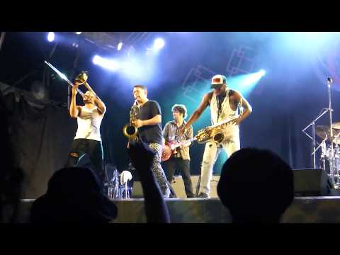 TROMBONE SHORTY&ORLEANS AVENUE Tripped Out Slim(@ fuji rock festival 2017)