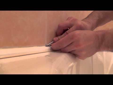 Чем заделать стык между ванной и стеной