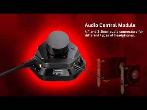 Creative Sound Blaster ZxR Introduction Video