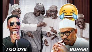 I GO DYE AT IT AGAINSAYS PRESIDENT BUHARI SHOULD RESIGN ON STAGE