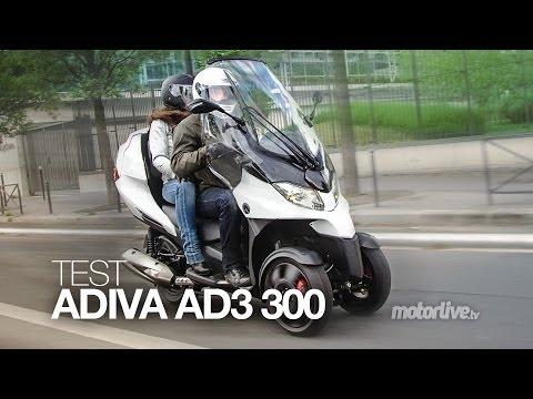 TEST   ADIVA AD3 300, La Diva des 3 roues !
