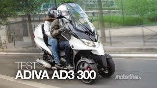 TEST | ADIVA AD3 300, La Diva des 3 roues !