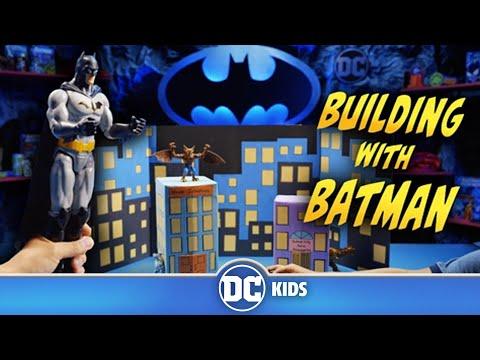 How To Build DIY Gotham City | Building With Batman | DC Kids