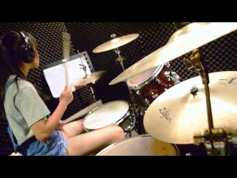The Script : Superheroes  - drum cover