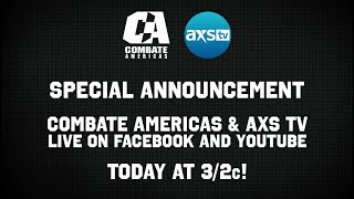 AXS TV and Combate Americas Press Announcement