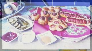 Сосиски в тесте/креативный завтрак