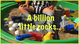 We bought a BILLION little rocks..