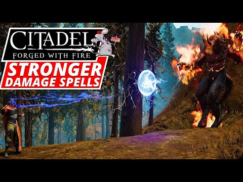 How To Craft Stronger Damage Spells In CITADEL Forged With Fire – Guide