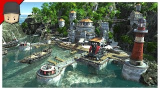 ANNO 1800 - Ep.05 : PIRATES OF THE CARIBBEAN! (ANNO 1800 Full Release Gameplay)
