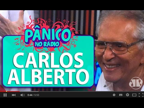 Carlos Alberto De Nóbrega E O Primeiro Carro De Silvio Santos | Pânico