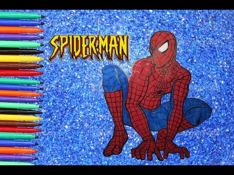 Spiderman disegni da colorare coloring book beiland for Stampe da colorare spiderman