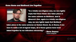 News: Gone Home and BioShock Take Place in the Same Universe