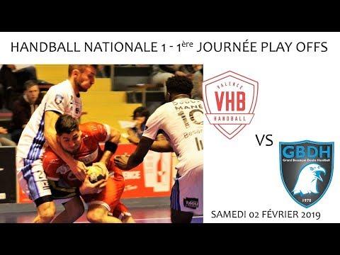 2019 03 02 Handball   Championnat N1M L1ère journée PLAY OFFS   VHB vs GBDH