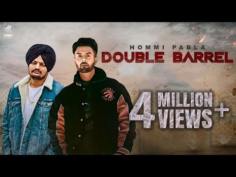 Double Barrel (Jatt Di Dunali) | Hommi Pabla ft. Sidhu Moose Wala | Deep Jandu | Humble Music